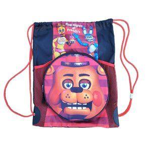Five Nights At Freddys Drawstring Backpack Bash